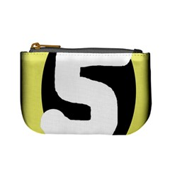 Number five Mini Coin Purses