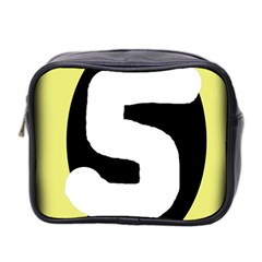 Number five Mini Toiletries Bag 2-Side