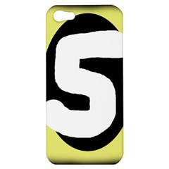Number five Apple iPhone 5 Hardshell Case