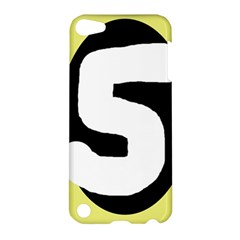 Number five Apple iPod Touch 5 Hardshell Case