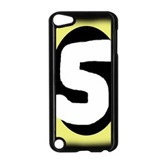 Number five Apple iPod Touch 5 Case (Black)