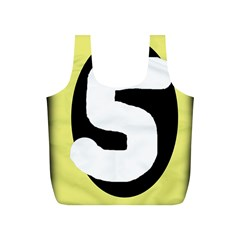 Number five Full Print Recycle Bags (S)