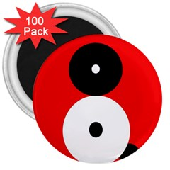 Number eight 3  Magnets (100 pack)