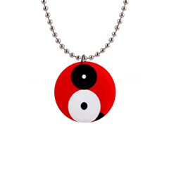 Number eight Button Necklaces