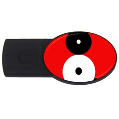 Number eight USB Flash Drive Oval (4 GB)