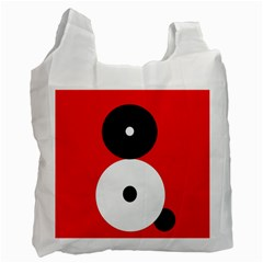Number eight Recycle Bag (One Side)