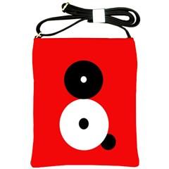 Number eight Shoulder Sling Bags