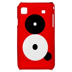 Number eight Samsung Galaxy S i9000 Hardshell Case