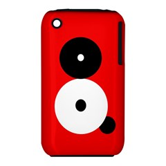 Number eight Apple iPhone 3G/3GS Hardshell Case (PC+Silicone)