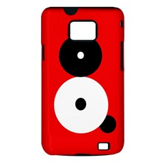 Number eight Samsung Galaxy S II i9100 Hardshell Case (PC+Silicone)