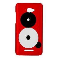Number eight HTC Butterfly X920E Hardshell Case