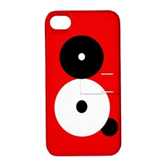Number eight Apple iPhone 4/4S Hardshell Case with Stand
