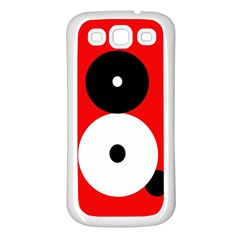 Number eight Samsung Galaxy S3 Back Case (White)