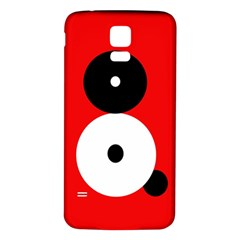 Number eight Samsung Galaxy S5 Back Case (White)