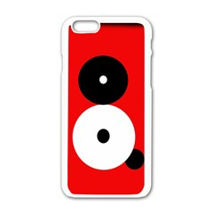 Number eight Apple iPhone 6/6S White Enamel Case