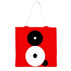 Number eight Grocery Light Tote Bag