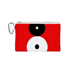 Number eight Canvas Cosmetic Bag (S)