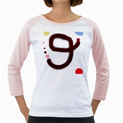 Number nine Girly Raglans