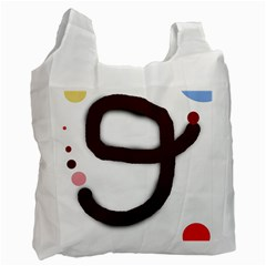 Number nine Recycle Bag (Two Side)