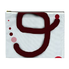 Number nine Cosmetic Bag (XL)