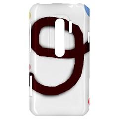 Number nine HTC Evo 3D Hardshell Case