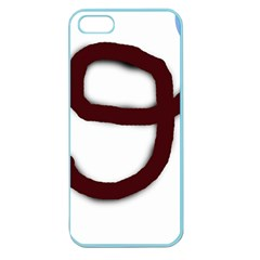 Number nine Apple Seamless iPhone 5 Case (Color)
