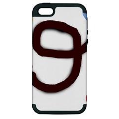 Number nine Apple iPhone 5 Hardshell Case (PC+Silicone)