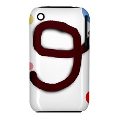 Number nine Apple iPhone 3G/3GS Hardshell Case (PC+Silicone)