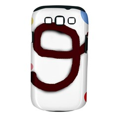 Number nine Samsung Galaxy S III Classic Hardshell Case (PC+Silicone)