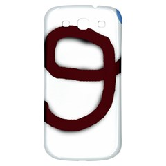 Number nine Samsung Galaxy S3 S III Classic Hardshell Back Case