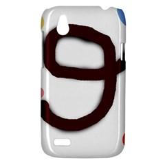 Number nine HTC Desire V (T328W) Hardshell Case