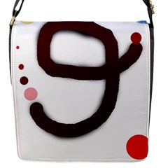 Number nine Flap Messenger Bag (S)