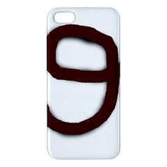Number nine iPhone 5S/ SE Premium Hardshell Case