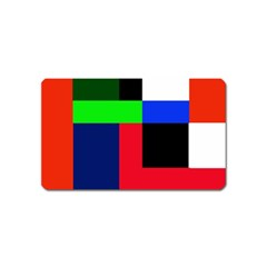 Colorful abstraction Magnet (Name Card)
