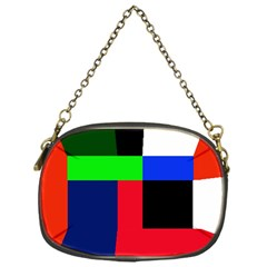 Colorful abstraction Chain Purses (One Side)