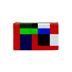 Colorful abstraction Cosmetic Bag (Small)