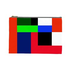 Colorful abstraction Cosmetic Bag (Large)