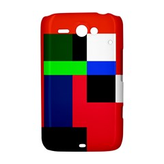 Colorful abstraction HTC ChaCha / HTC Status Hardshell Case