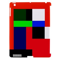 Colorful abstraction Apple iPad 3/4 Hardshell Case (Compatible with Smart Cover)