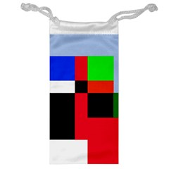 Colorful abstraction Jewelry Bags