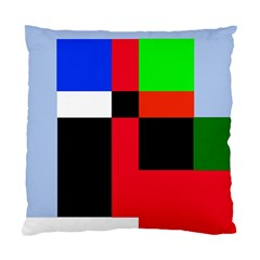 Colorful abstraction Standard Cushion Case (Two Sides)