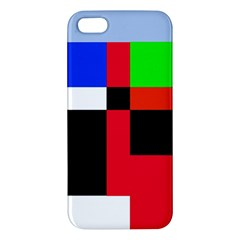 Colorful abstraction iPhone 5S/ SE Premium Hardshell Case