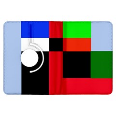 Colorful abstraction Kindle Fire HDX Flip 360 Case