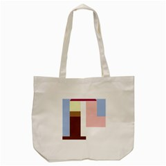 Colorful abstraction Tote Bag (Cream)