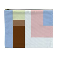 Colorful abstraction Cosmetic Bag (XL)