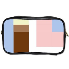 Colorful Abstraction Toiletries Bags 2 Side