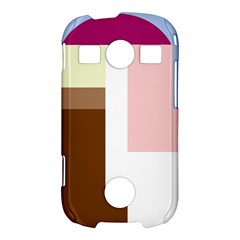 Colorful abstraction Samsung Galaxy S7710 Xcover 2 Hardshell Case