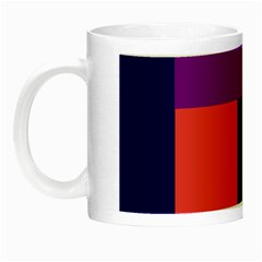 Colorful abstraction Night Luminous Mugs