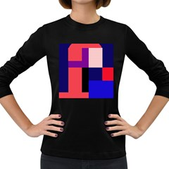 Colorful abstraction Women s Long Sleeve Dark T-Shirts