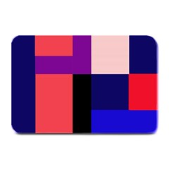 Colorful abstraction Plate Mats